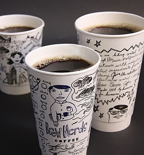 cute coffee cup designs 26 cute coffee cups the idea